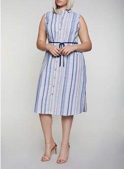 Cheap Plus Size Linen Dresses | Everyday Low Prices | Rainbow