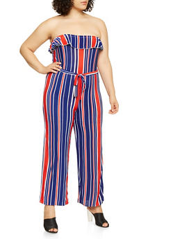 e2ab8548b0e Blue Clearance Sale on Plus Size Jumpsuits and Rompers