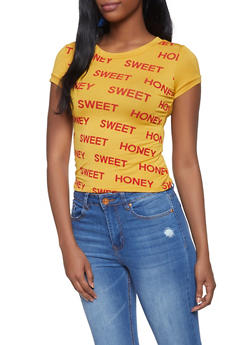 Sweet Honey Graphic Tee - 3402061350288