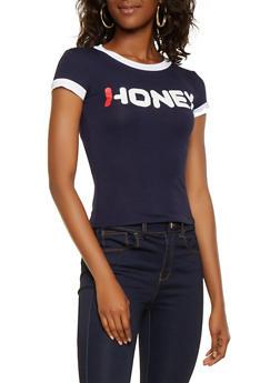 Honey Graphic Tee - 3402061350713