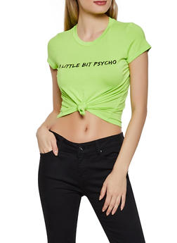 A Little Bit Psycho Tee - 3402061357789