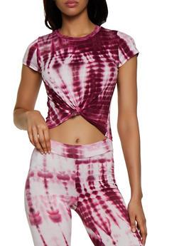 Tie Dye Soft Knit Tee - 3402061357997