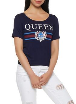 Queen Graphic Tee - 3402061358546