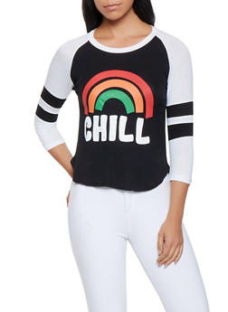 Chill Graphic Raglan Tee - 3402062702304