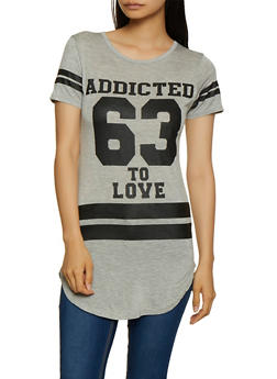 Addicted to Love 63 Tunic Tee - 3402062702597