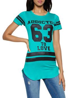 Addicted to Love 63 Tunic Tee - 3402062702597