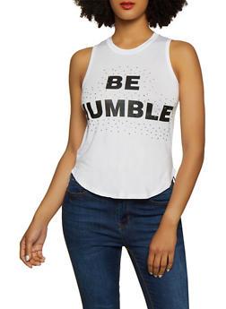 Be Humble Tank Top - 3402062702622