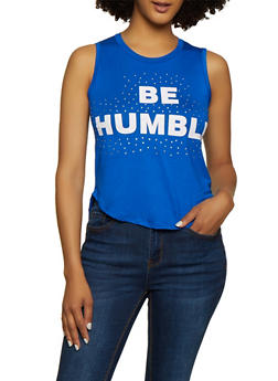 Be Humble Tank Top - 3402062702622