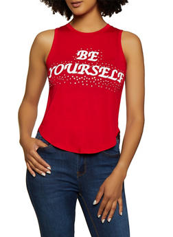 Be Yourself Tank Top - 3402062702623