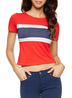 Color Block Tee - 3402066493017