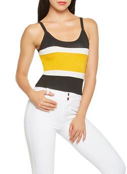 Color Block Cami - 3402066493018
