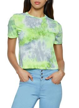 Short Sleeve Tie Dye Tee - 3402066496657