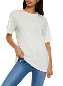 Oversized Short Sleeve Tee - 3402066497251