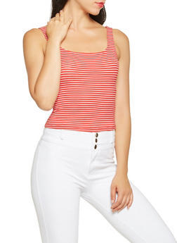 Striped Tank Top - 3402066498745