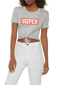 Super Graphic Crop Top - 3402069390192