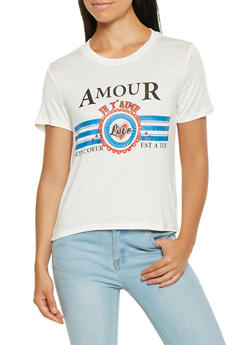 Amour Graphic Tee - 3402069390361