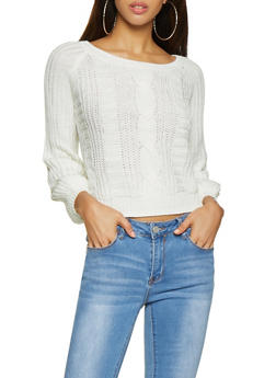 Cable Knit Sweater - 3403015996090
