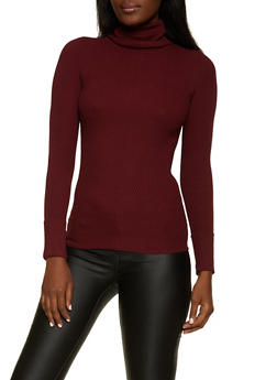 Fixed Cuff Turtleneck Sweater - 3403015996130