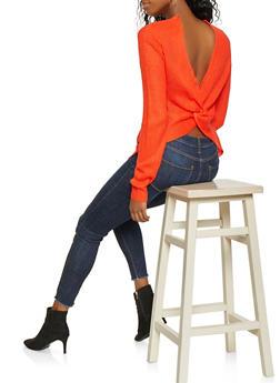 Twist Back Sweater - 3403015998670