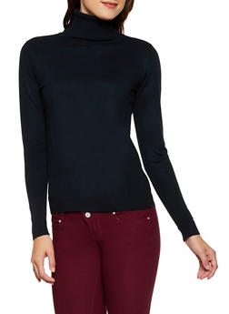 Basic Turtleneck Sweater - 3403062702907