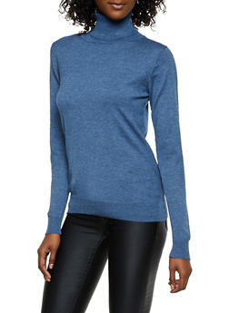 Solid Turtleneck Sweater | 3403062704709 - 3403062704709