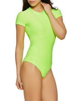 Mock Neck Bodysuit - 3405063402565