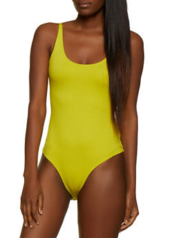 Ponte Sleeveless Bodysuit - 3405068193348