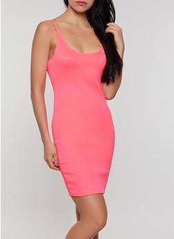 Neon Bodycon Cami Dress - 3405068511135