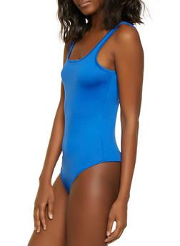 Coated Thong Bodysuit - 3405069390170