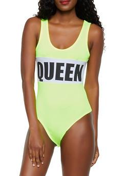 Soft Knit Queen Bodysuit - 3405072241087