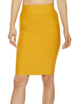 Bandage Pencil Skirt - 3406068197073