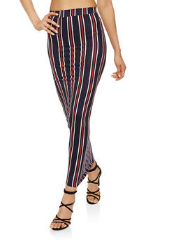 Striped Maxi Skirt - 3406072241593