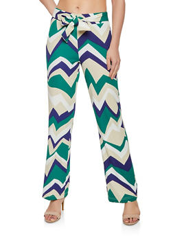Chevron Dress Pants - 3407056574551