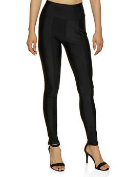 Stitch Front Leggings - 3407062707397