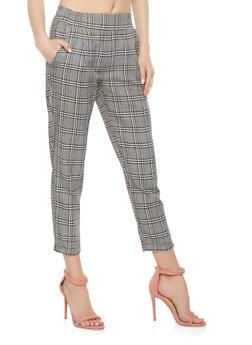 Plaid Trousers - 3407068193095