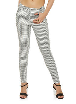 Checkered Dress Pants - 3407068193840