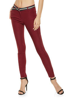 Belted Dress Pants - 3407068511564