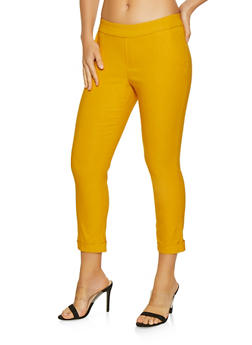 Fixed Cuff Dress Pants - 3407068513715
