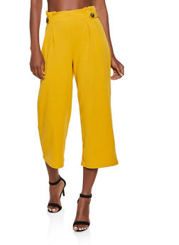 Pleated Dress Pants - 3407069395242