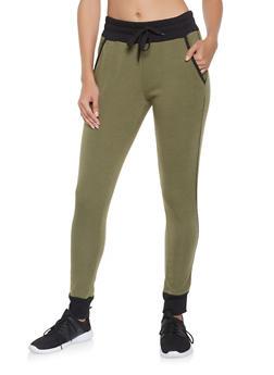 Fleece Lined Joggers - 3407072290184