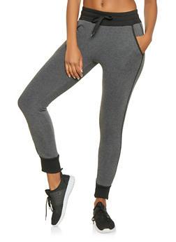 Fleece Lined Sweatpants - 3407072291184