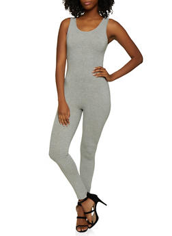 Scoop Neck Jumpsuit - 3408066491817