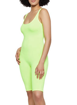 Solid Tank Bike Catsuit - 3408066495607