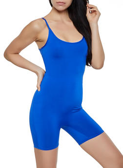 Solid Cami Catsuit - 3408068514412