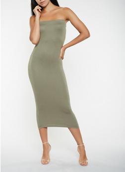 Midi Tube Dress - 3410062700001