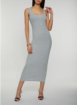 Rib Knit Tank Maxi Dress | 3410066495932 - 3410066495932