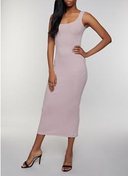 Rib Knit Tank Maxi Dress   3410066495932 - 3410066495932