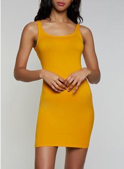 Soft Knit Mini Tank Dress - 3410066498822