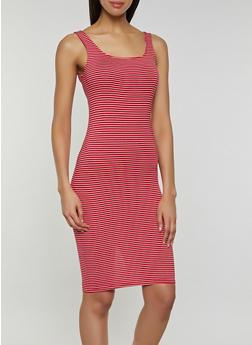 Striped Midi Tank Dress | 3410066499874 - 3410066499874
