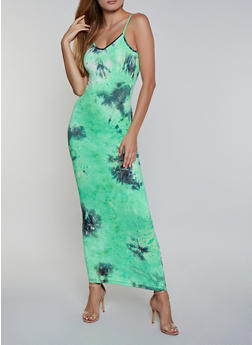 Tie Dye Cami Maxi Dress | 3410068511425 - 3410068511425